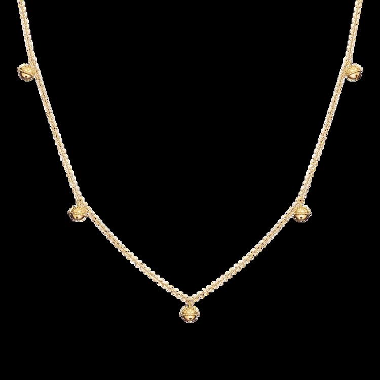"Paul Morelli 18K Yellow Gold Meditation Bell Necklace (Jingle Version), 28"""