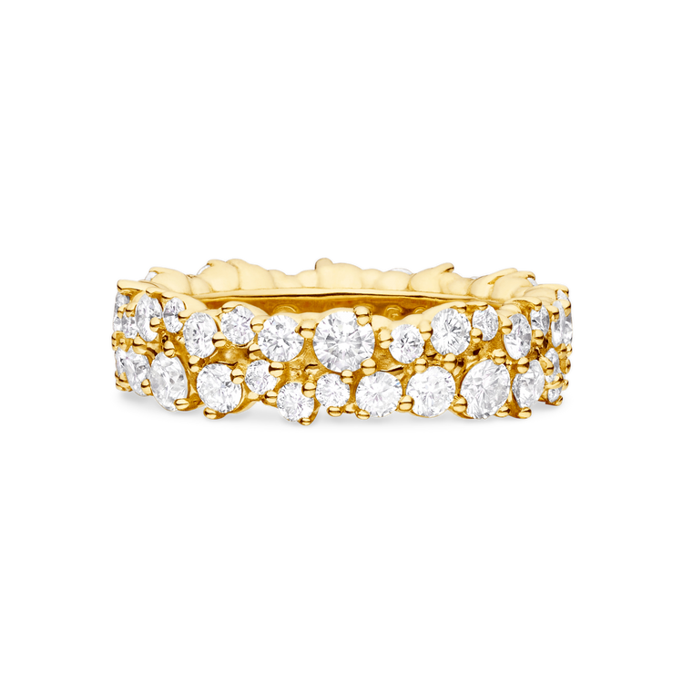 *PRE-ORDER* Paul Morelli 18K Yellow Gold Medium Confetti Diamond Ring