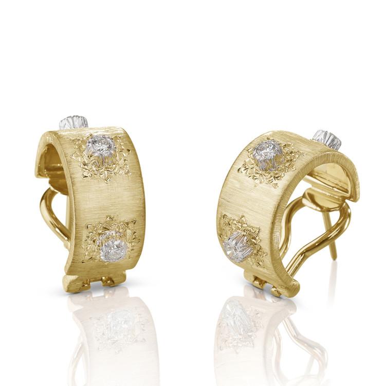 Buccellati Macri Classica Earrings in Yellow Gold