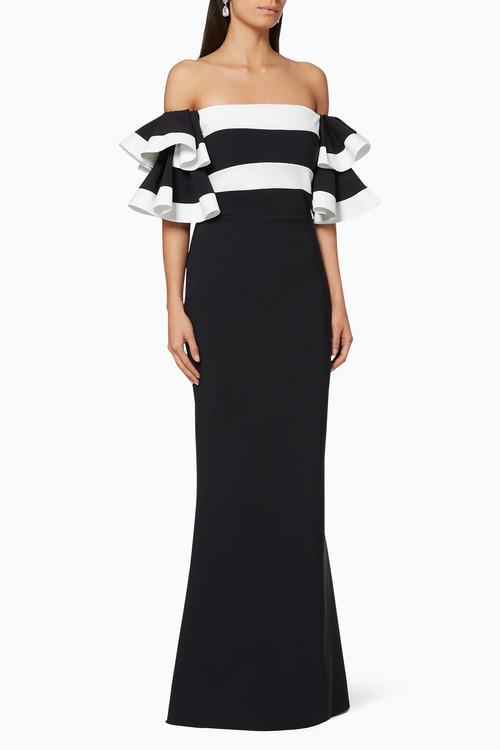 Chiara Boni La Petite Robe Couture Parvati Gown (Size 44)