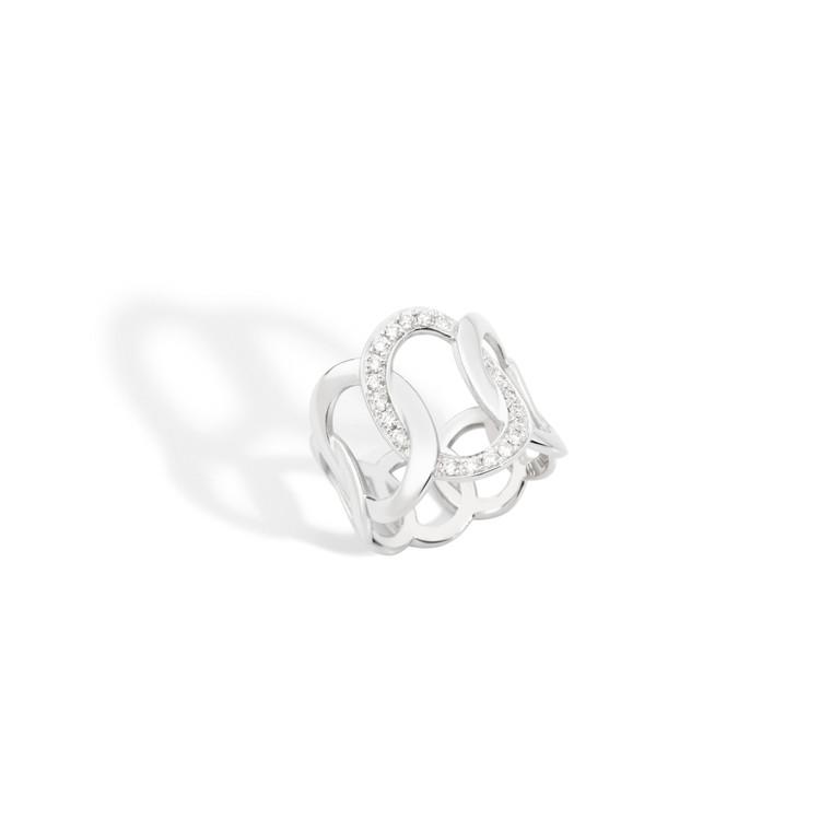 *PRE-ORDER* Pomellato 18K White Gold Brera Diamond Ring