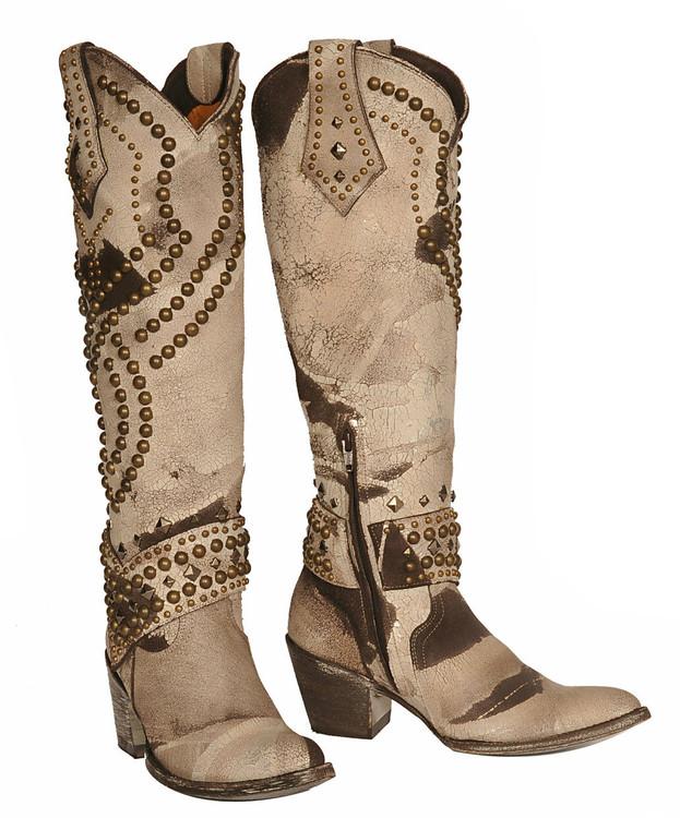 Old Gringo Belinda Beige Boots
