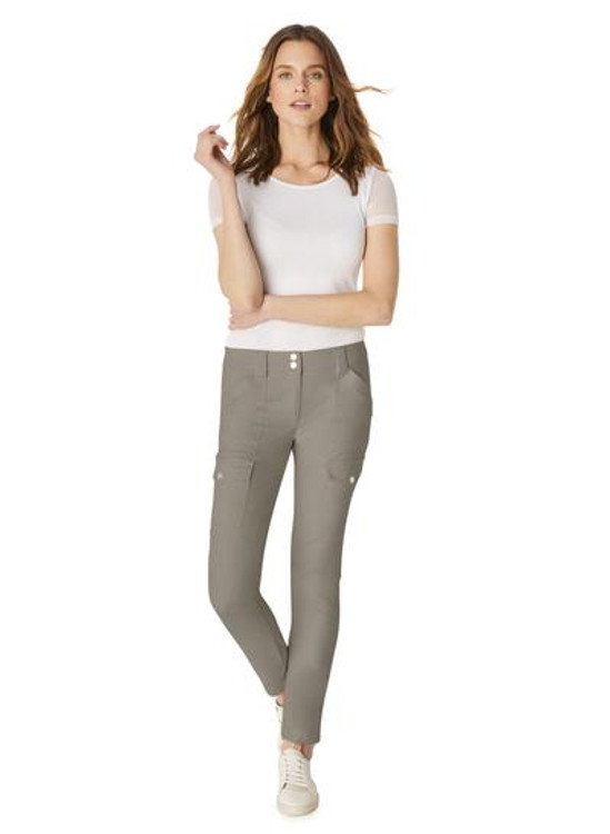 Anatomie Signature Kate Cargo Pants in Anthracite