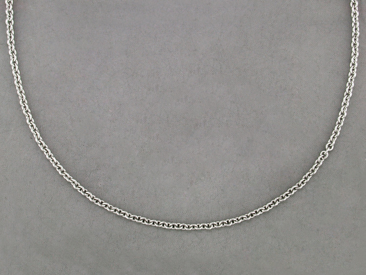 *PRE-ORDER* Ruth Taubman 14K White Gold Cable Chain Necklace