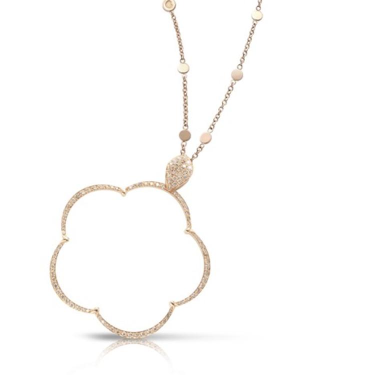 *PRE-ORDER* Pasquale Bruni 18k Rose Gold Ton Joli Necklace with Champagne Diamonds
