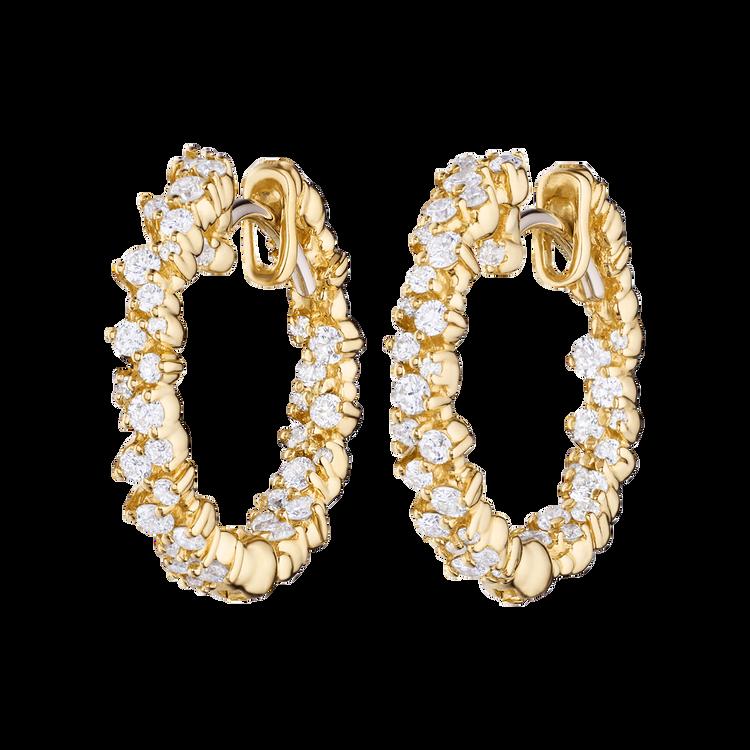 Paul Morelli 18K Yellow Gold Extra Small Confetti Hoop Earrings