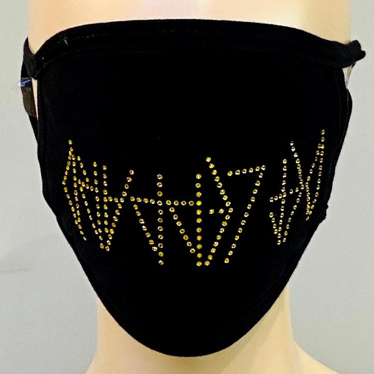 Rhinestone Embellished Mask - Tribute 2