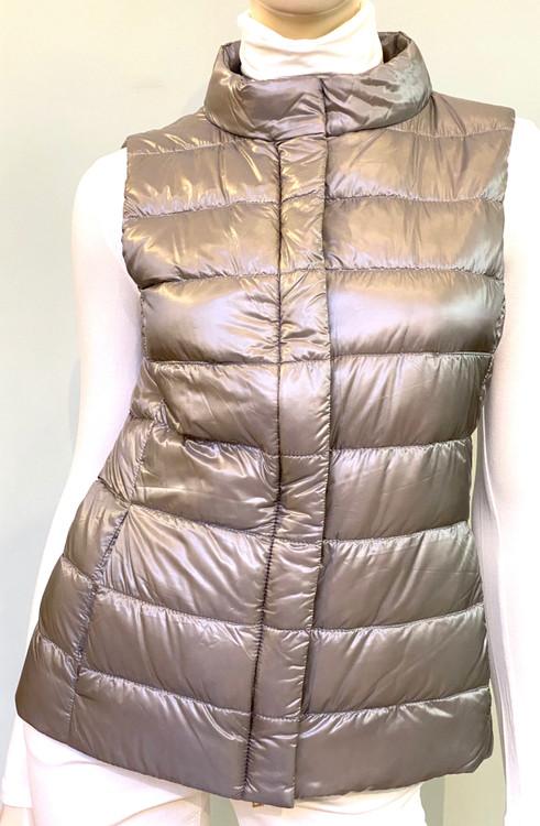 Herno Giulia Waistcoat in Silver