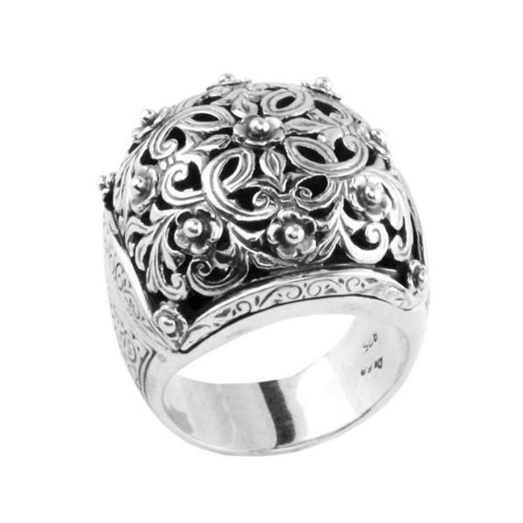 *PRE-ORDER*Konstantino Sterling Silver Dome Ring