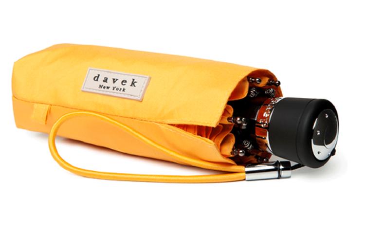 DAVEK Mini Umbrella in Orange