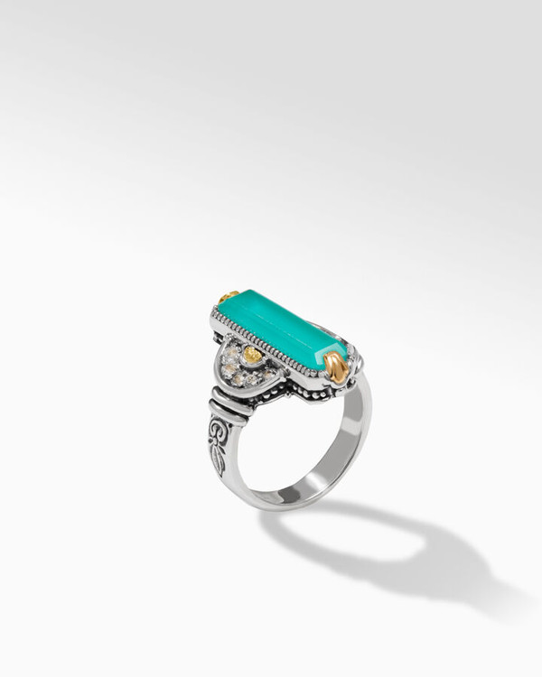 *TRUNK SHOW* Konstantino Sterling Silver and 18K Gold Aqua Pura Ring