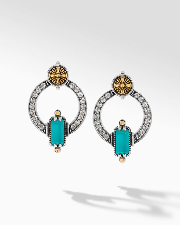 *TRUNK SHOW* Konstantino Sterling Silver and 18K Gold Empress Earrings
