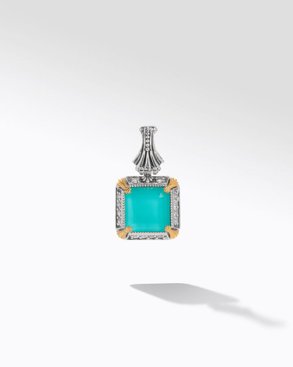 *TRUNK SHOW* Konstantino Sterling Silver and 18K Gold Piscine Petite Pendant