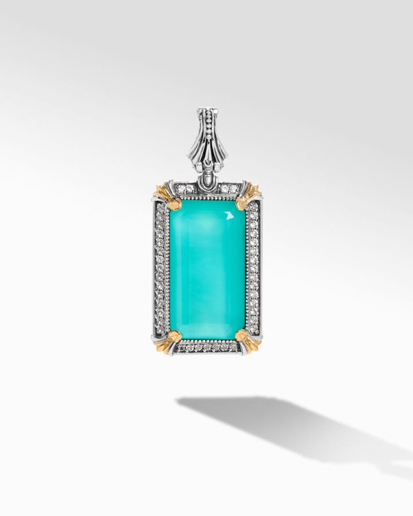*TRUNK SHOW* Konstantino Sterling Silver and 18K Gold Piscine L Pendant