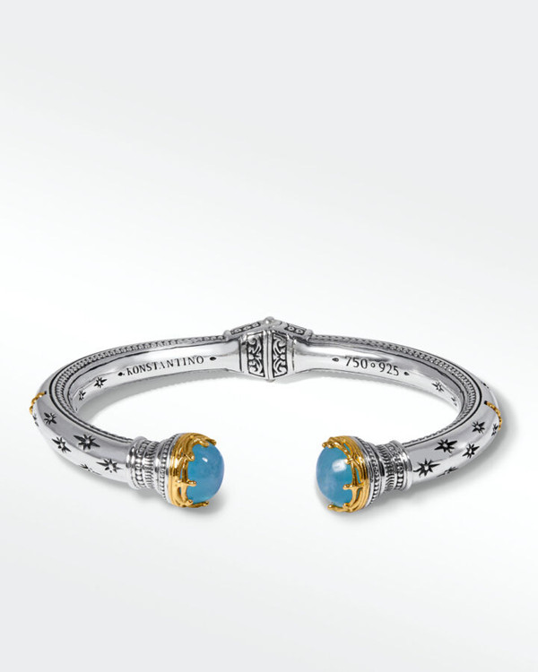 Konstantino Sterling Silver and 18K Gold Intergalactic Bracelet