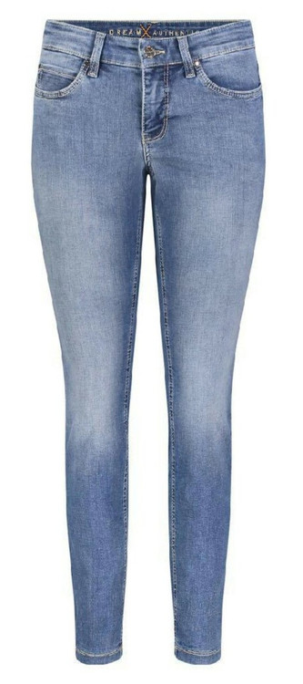 MAC Dream Skinny Authentic Jeans in Authentic Summer Blue Wash
