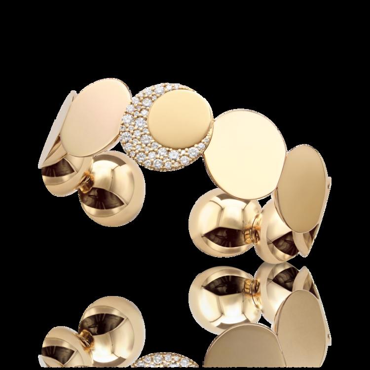 *PRE-ORDER* Pasquale Bruni 18K Rose Gold Luce XL Diamond Bracelet