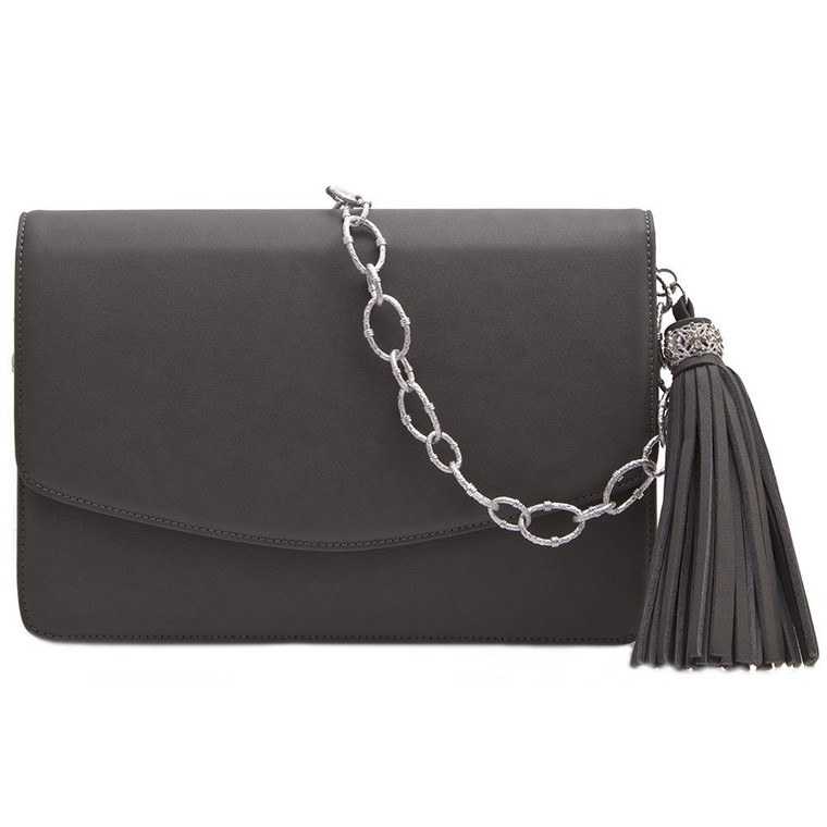 Armenta Mid-Size Box in Fog Leather