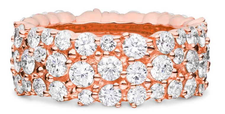 Paul Morelli Confetti Large Pink Gold Ring