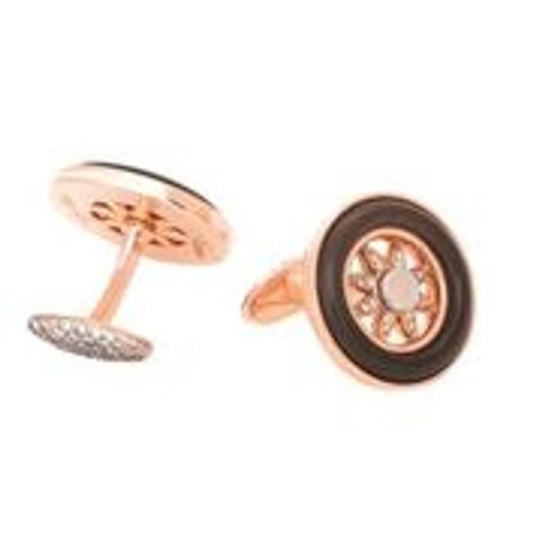 Misahara Spinning Wheels Cufflinks
