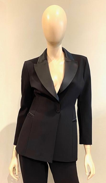 Chiara Boni La Petite Robe Black Alex RA Jacket