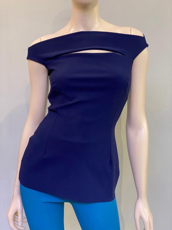 Chiara Boni La Petite Robe Blu Notte Karen Top