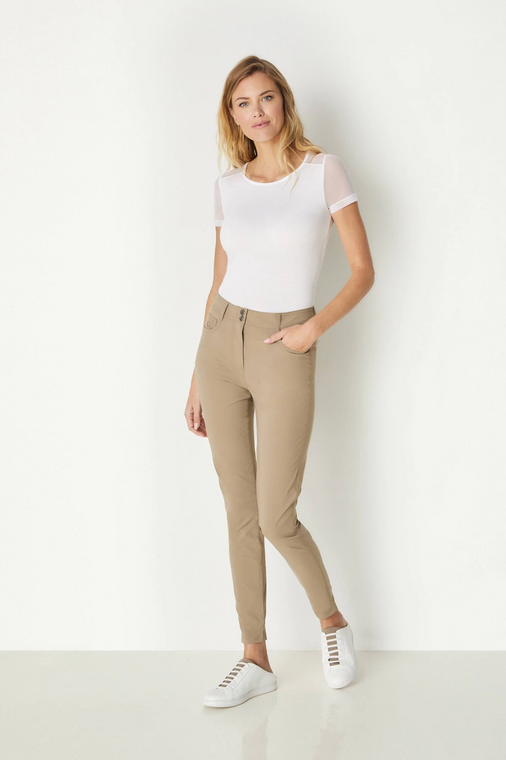 Anatomie Luli Skinny Jean Pants - Khaki