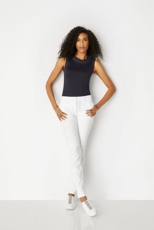 Anatomie Kamryn Cropped Pants - White