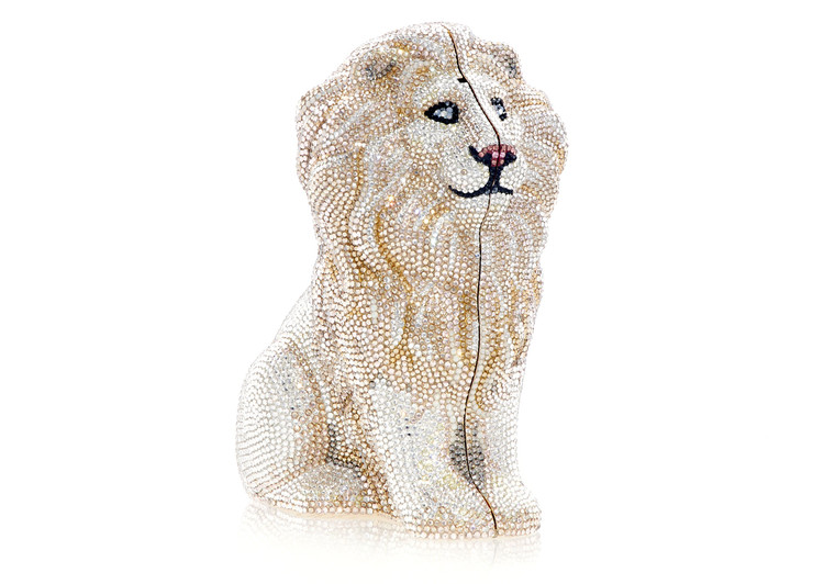 *New Pre-Order Holiday Collection*Judith Leiber Couture Lion Zuri Clutch Bag