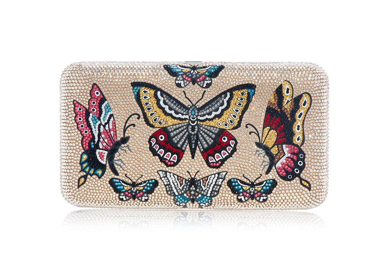 *New Pre-Order Holiday Collection*Judith Leiber Smooth Rectangle Flutter