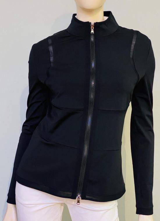 Anatomie Black with Mesh inserts Jacket