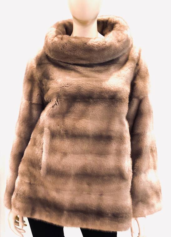Augustina's Finland Mink Fur Pullover