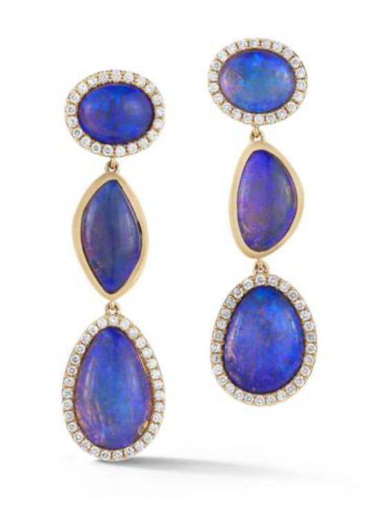 *TRUNK SHOW* Katherine Jetter Classic Opal Line Earrings