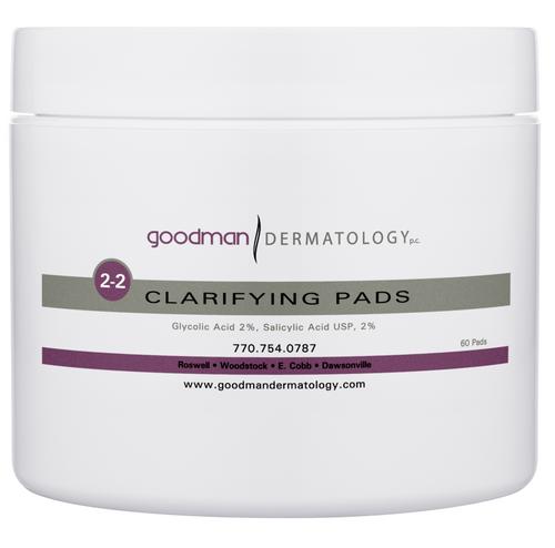 Goodman Dermatology Gly/Sal Clarifying Pads
