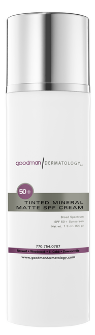 Goodman Dermatology Sunscreen Tinted Mineral Matte (Face) SPF 50+
