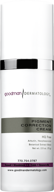 Goodman Dermatology Pigment Correction Cream
