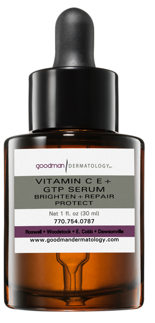 Goodman Dermatology Vitamin C E + GTP Serum (Brighten + Repair + Protect)