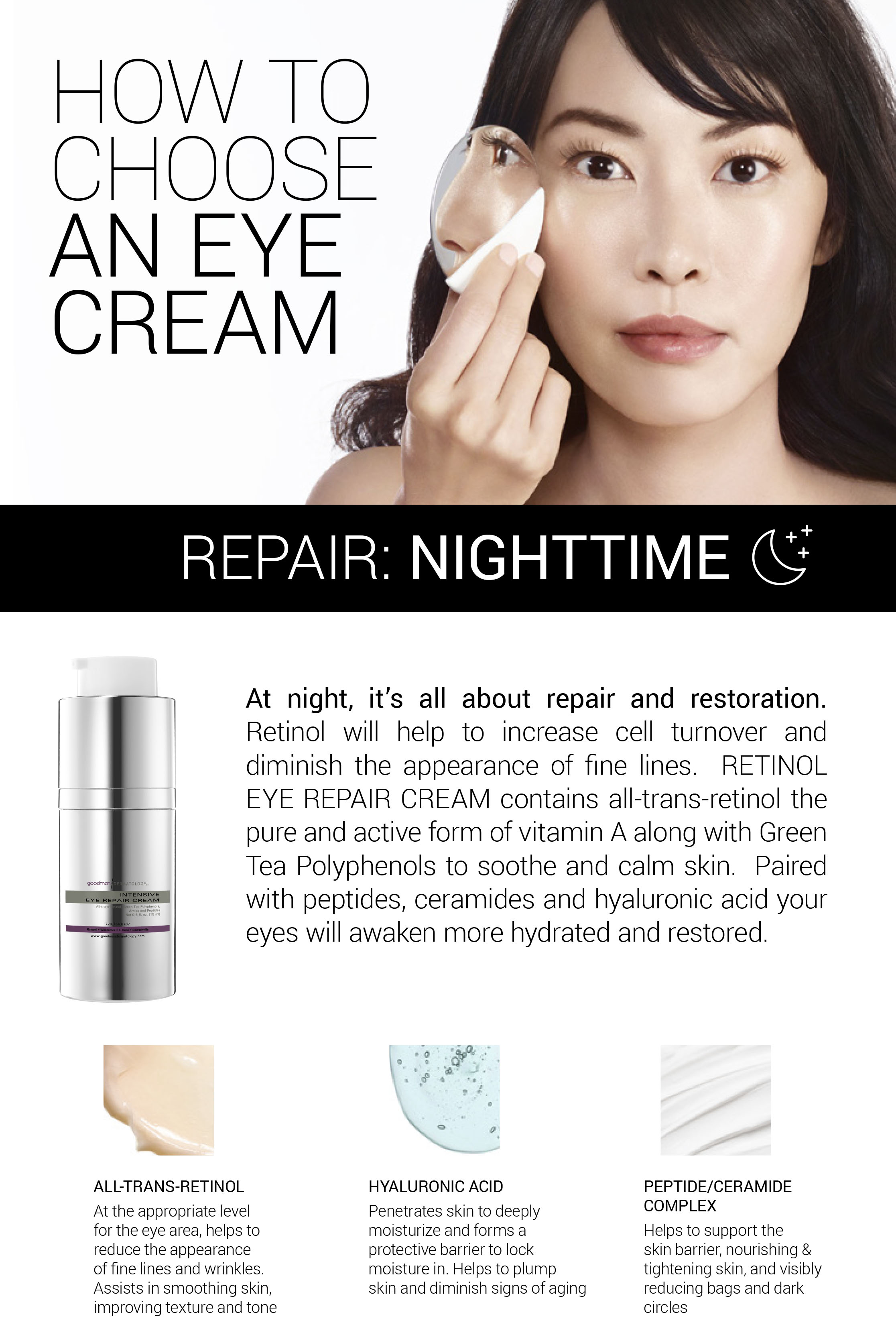 How to Choose An Eye Cream