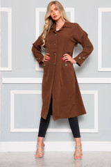 Long Trench Coat (Five Colours)