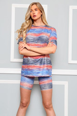 Two Tone Cycling Co-Ord Set