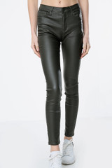 Coated Mid Rise Jeans (Five Colours)