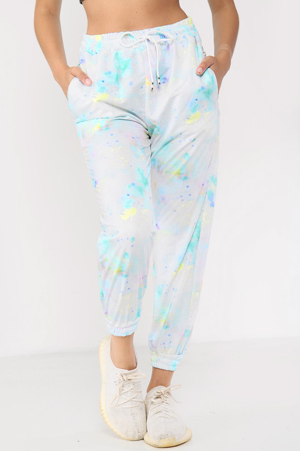 Tie Dye Relaxed Fit Joggers (Four Colours)