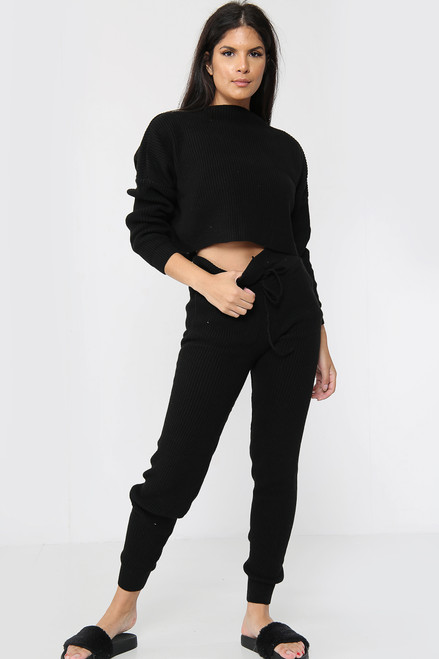 Knitted Tracksuit Co-Ord Set (Five Colours)