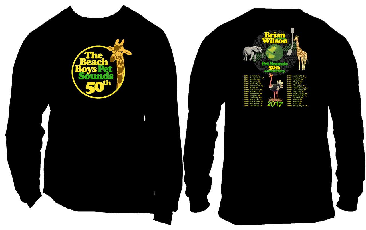 8942825f Brian Wilson Pet Sounds 50th Anniversary Concert 5oz - Phoenix Tees