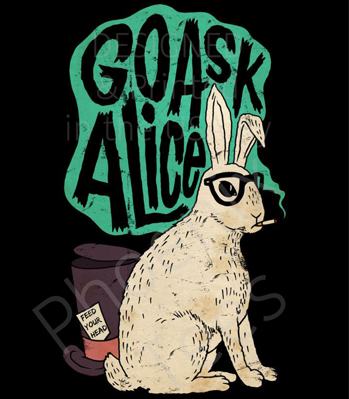 Jefferson Airplane Go Ask Alice T shirt