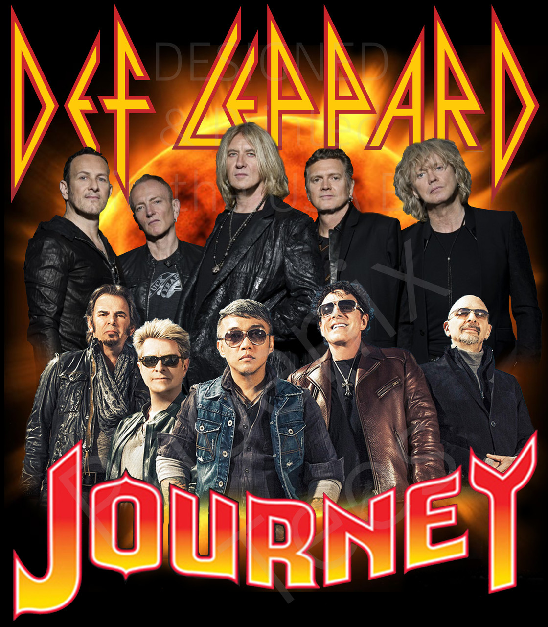 Def Leppard Journey Tour 2020.Def Leppard Journey 2020 Tour Shirts Tour 2020 Infiniteradio