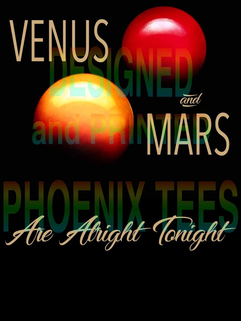 Paul McCartney Wings Venus and Mars Ladies V-Neck