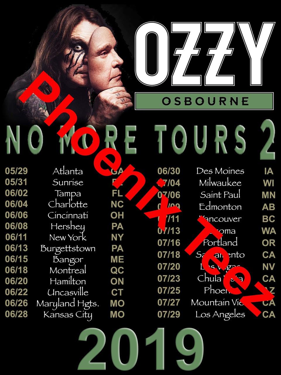 c8af8201 ... T shirt Ozzy Osbourne 2019