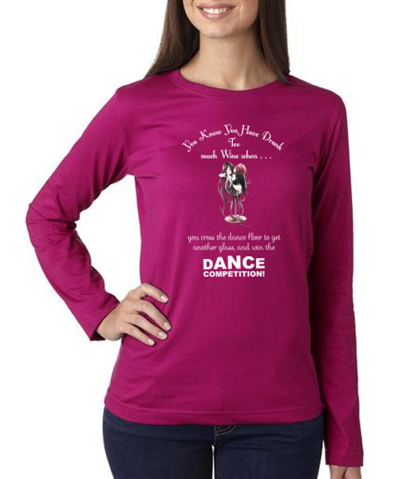 Ladies Wine Shirt