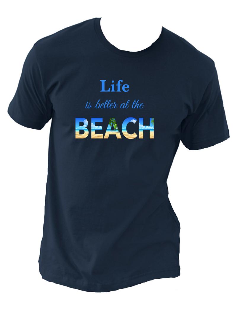 "Unisex T-Shirt (Sizes S-4X) Size Chart:   Body Width   Body Length S                        36""                  28"" M                       40""                  29"" L                        44""                  30"" XL                      48""                  31"" 2XL                    52""                  32"" 3XL                    56""                  33"" 4XL                    60""              34-1/2"""